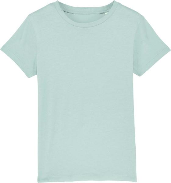 Kinder T-Shirt aus Bio-Baumwolle - caribbean blue