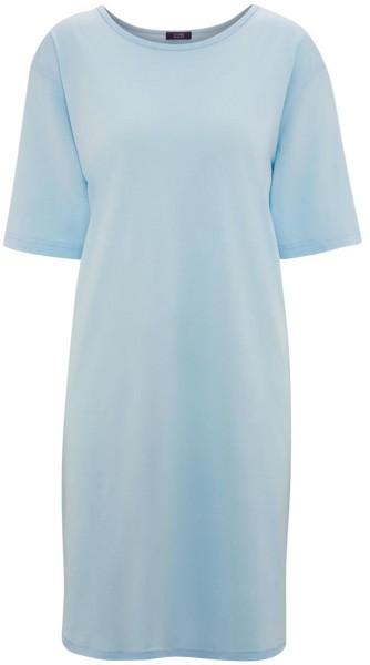 Nachthemd aus Bio-Baumwolle - bleu