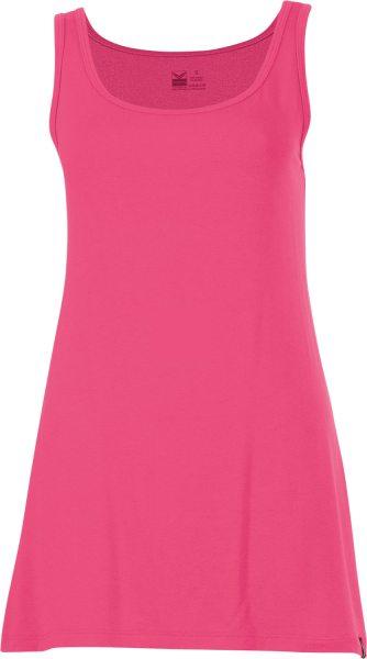 Träger-Longshirt - Viskose - pink