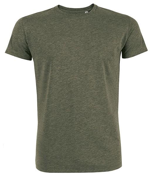 Leads - Kurzarmshirt aus Bio-Baumwolle - khaki-meliert - Bild 1