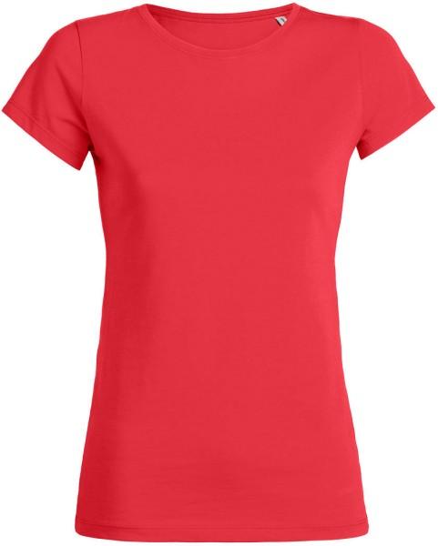 Wants - T-Shirt aus Bio-Baumwolle - hibiscus