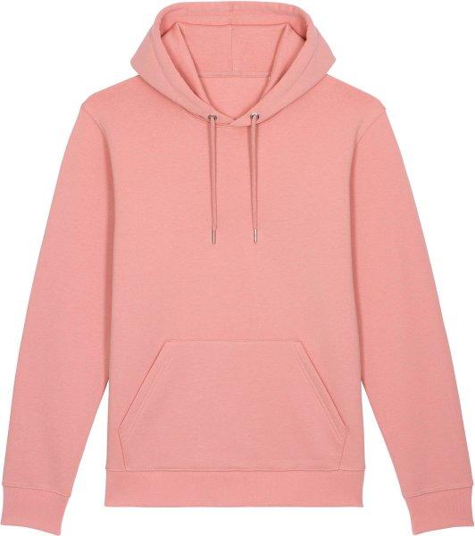 Unisex Hoodie aus Bio-Baumwolle - canyon pink