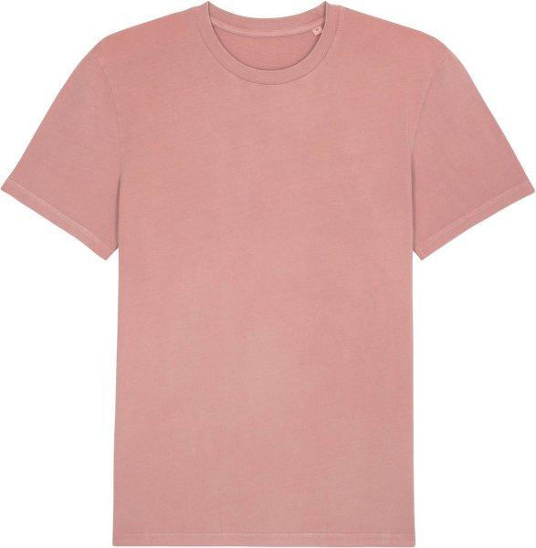 Vintage T-Shirt aus Bio-Baumwolle - g. dyed canyon pink