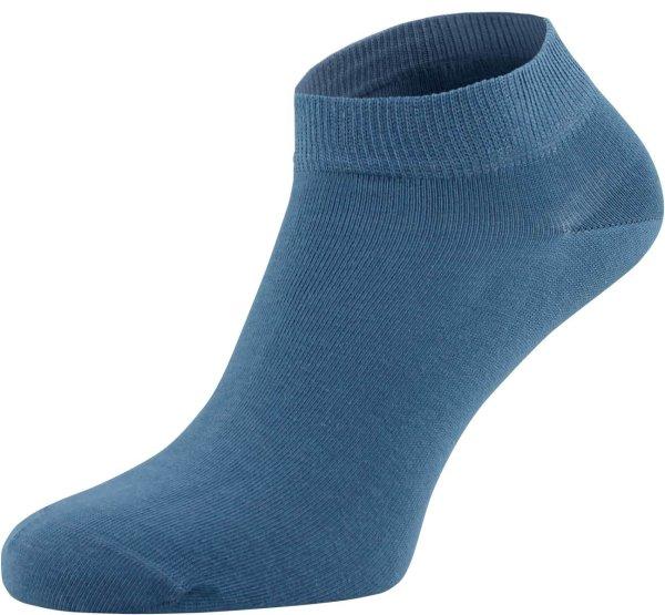 Socken mit kurzem Schaft denimblau