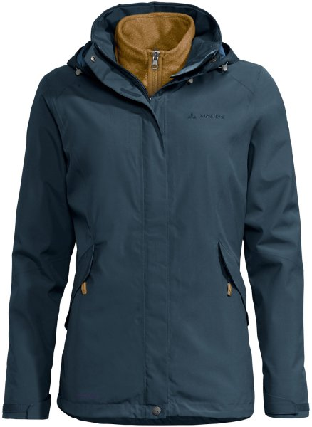 Damen Jacke Rosemoor 3in1 Jacket - steelblue