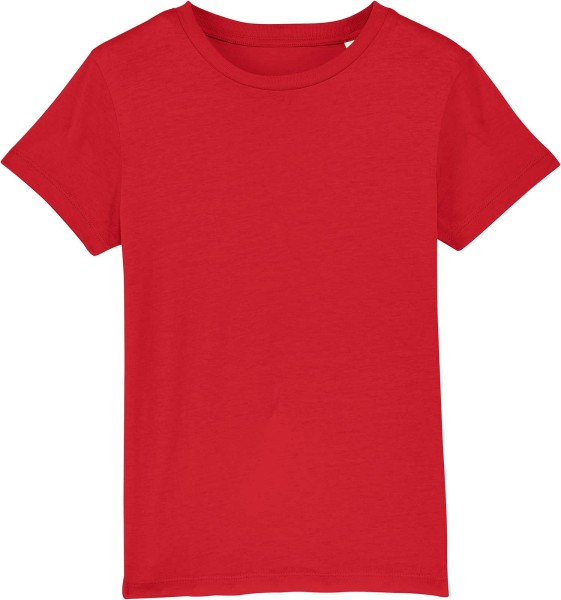 Kinder T-Shirt aus Bio-Baumwolle - red