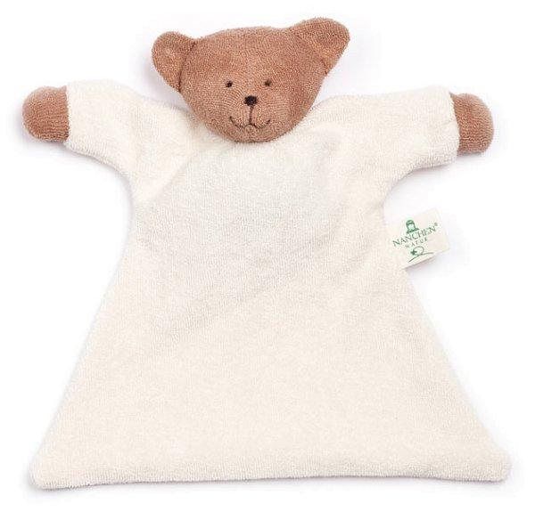 Nuckeltier Bär Schmusepuppe/Tuch aus Bio-Baumwolle - Bild 1