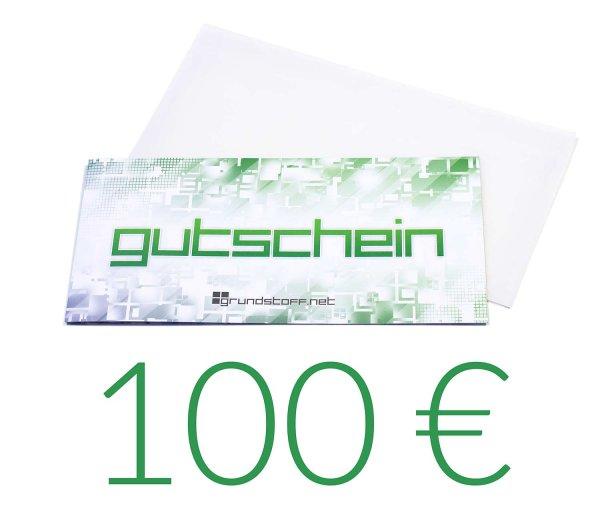 100,- EUR Geschenkgutschein - neutrales Design - Bild 1