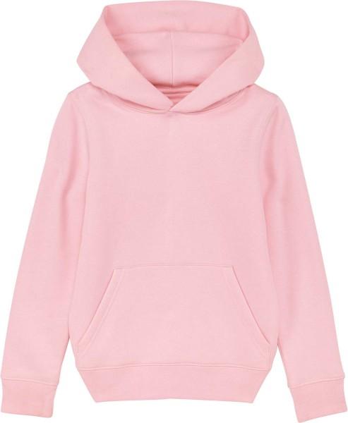 Kinder Hoodie aus Bio-Baumwolle - cotton pink