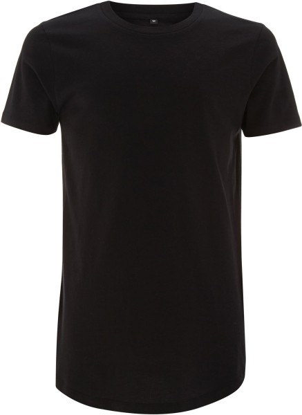 Long T-Shirt schwarz