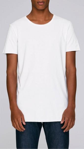 Skates - Long T-Shirt aus Bio-Baumwolle - weiss - Bild 1