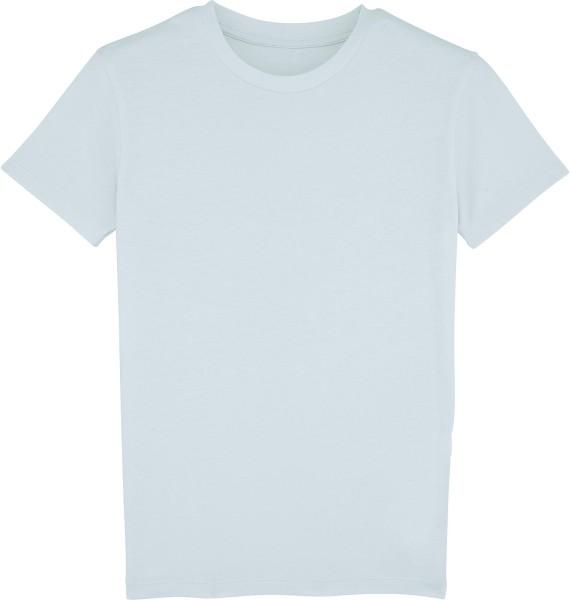 Kinder T-Shirt aus Bio-Baumwolle - baby blue