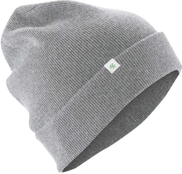 Wintermütze aus Wolle, Bio-Baumwolle und Hanf - rock