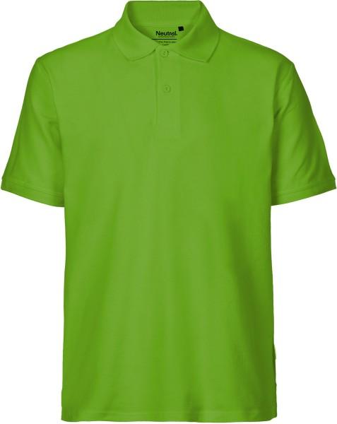Classic Polo-Shirt aus Fairtrade Bio-Baumwolle - lime