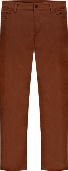 Organic Cotton Jeans - Tapered Fit - red