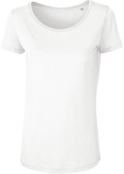 Loves Modal - T-Shirt aus Modalfasern - weiss