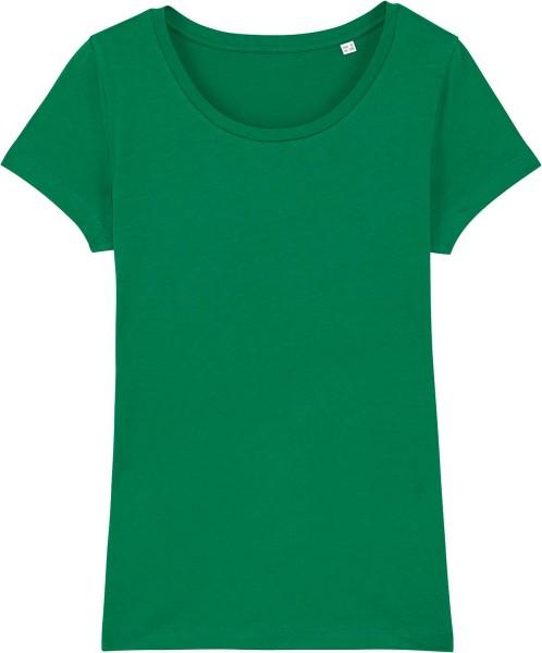 Jersey-Shirt aus Bio-Baumwolle - varsity green