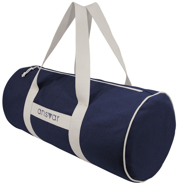 Fairtrade Duffle Bag organic cotton navy