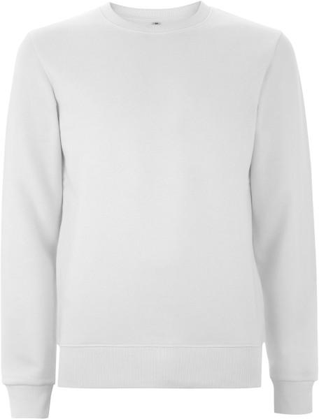 Sweatshirt weiss Baumwolle Unisex N62