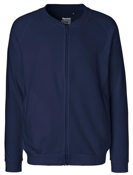 Zip-Jacke aus Fairtrade Bio-Baumwolle - navy