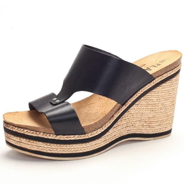 Offene Sandalette Keilabsatz 785171