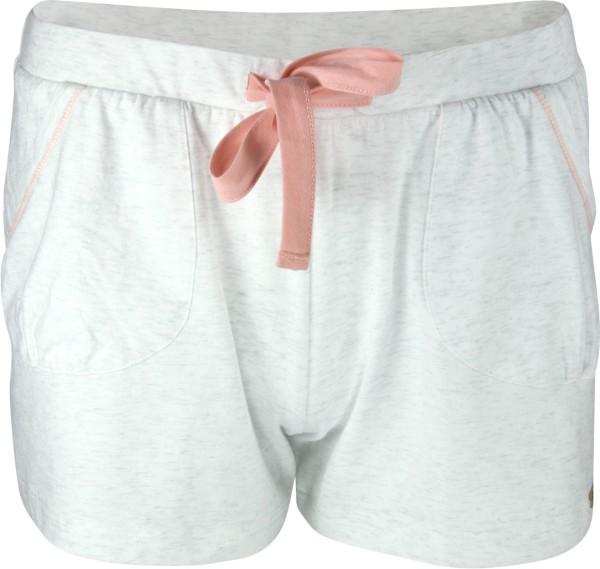 Relax-Shorts aus Fairtrade Bio-Baumwolle - ecru-melange
