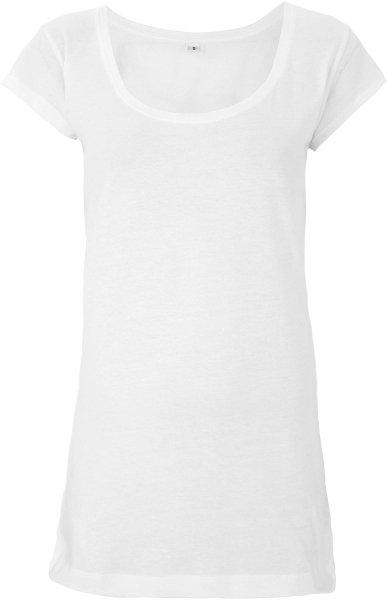 Tencel Sheer Jersey T-Shirt - white