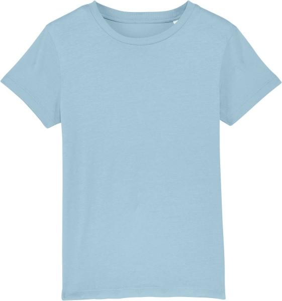 Kinder T-Shirt aus Bio-Baumwolle - sky blue