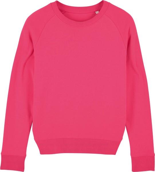 Sweatshirt aus Bio-Baumwolle - pink punch