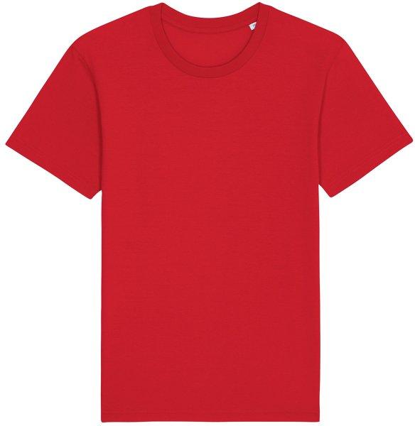 Basic T-Shirt aus Bio-Baumwolle - red