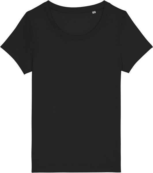 Basic T-Shirt aus Bio-Baumwolle - black