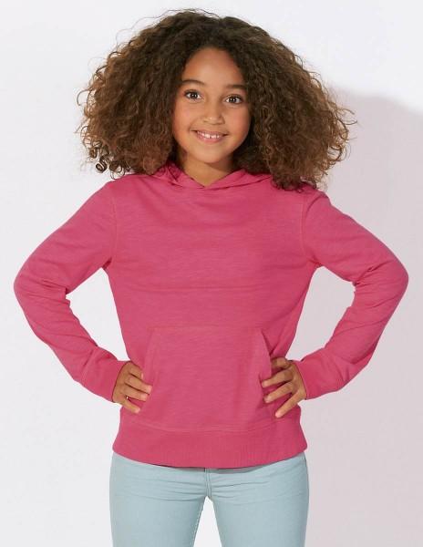 Kinder Longsleeve aus Biobaumwolle - Mini Bloom - camelia pink - Bild 1