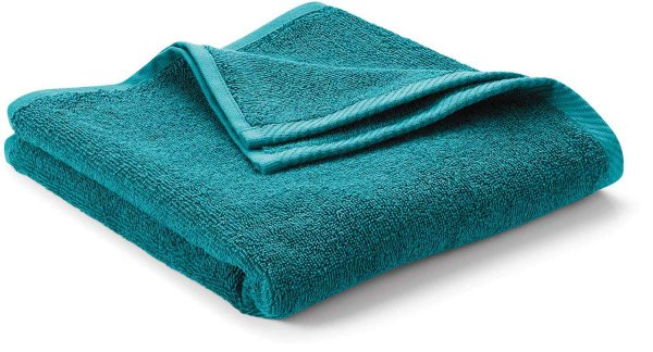 Handtuch aus Bio-Baumwolle 100x50 cm - petrol