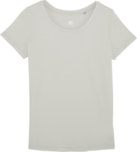 Jerseyshirt aus Bio-Baumwolle - light opaline