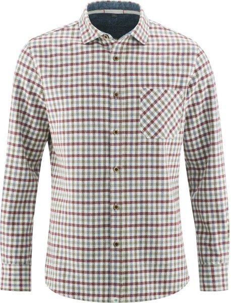 Holzfällerhemd aus Hanf und Bio-Baumwolle - tinto