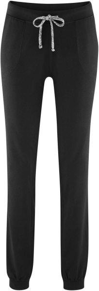 Relax-Hose aus Bio-Baumwolle - black