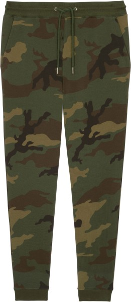 Jogginghose aus Bio-Baumwolle - camouflage