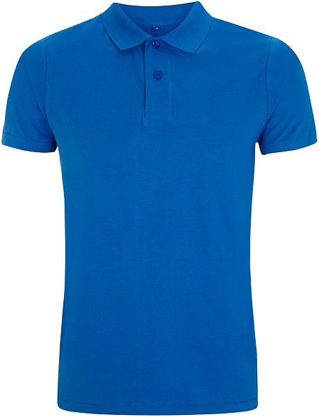 Urban Brushed Jersey Polo Shirt - ocean blue - Bild 1