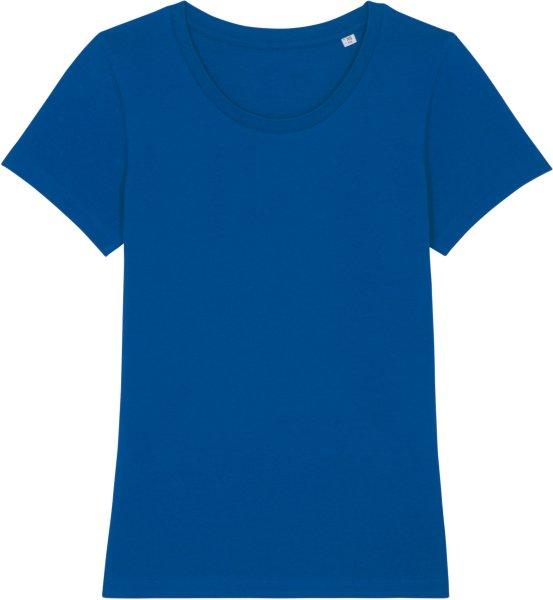 T-Shirt aus Bio-Baumwolle - majorelle blue