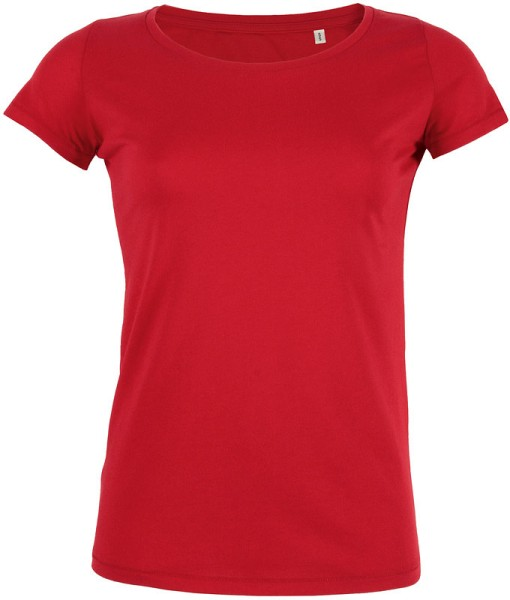 Loves - Jerseyshirt aus Bio-Baumwolle - rot