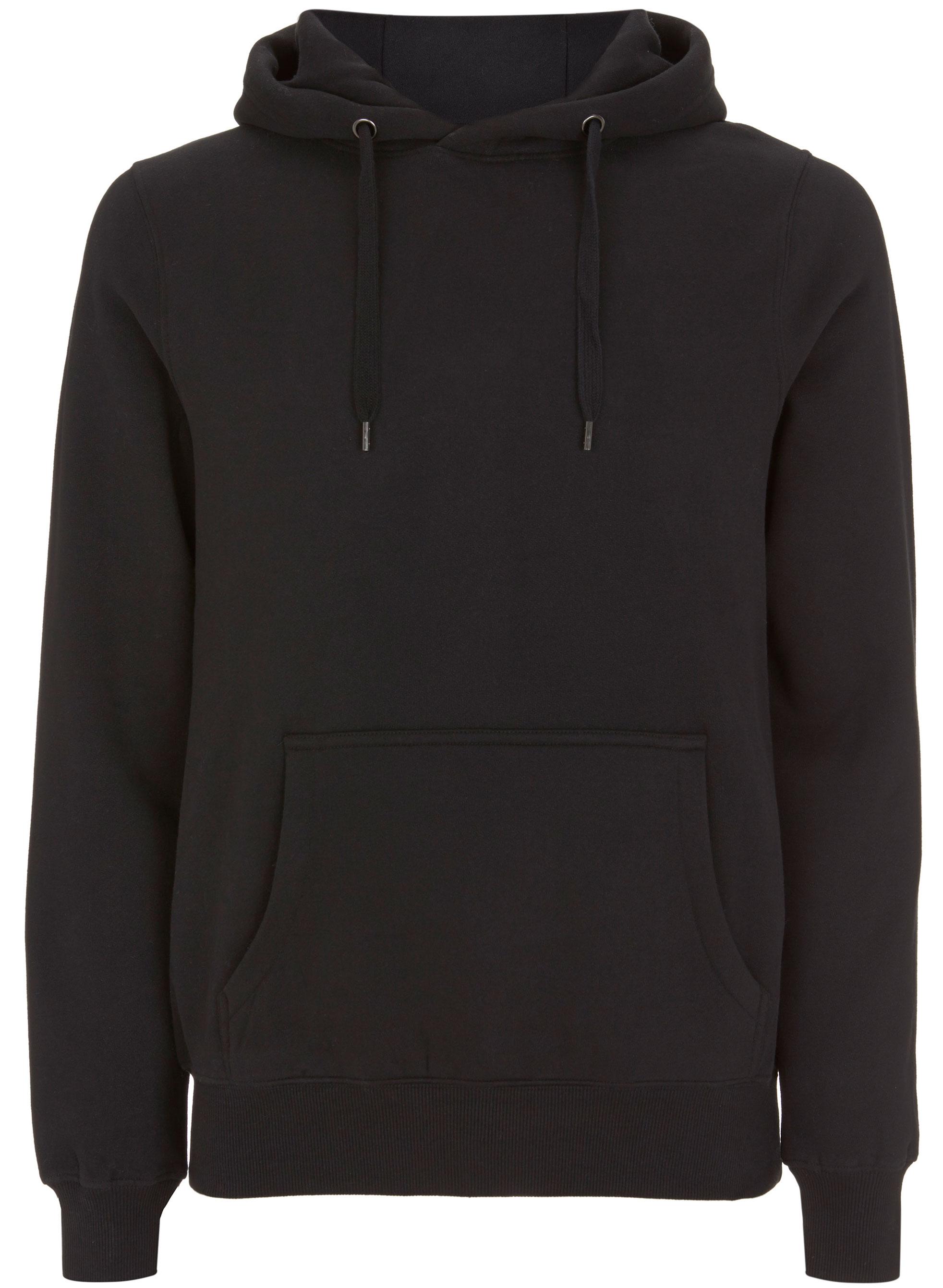 Classic Pullover Hoodie - schwarz
