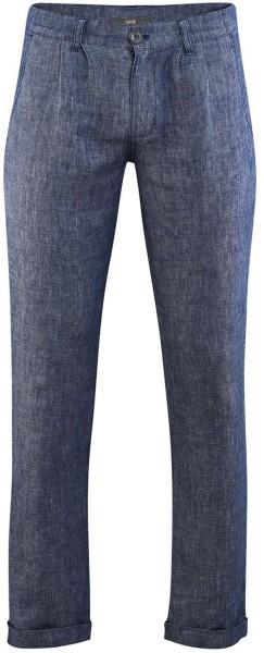 Hose aus 100% Leinen - indigo blue