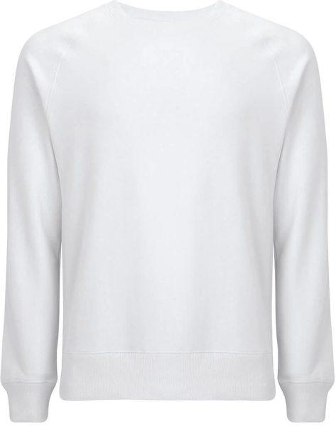 Recycled Unisex Sweatshirt Baumwolle und Polyester - dove white