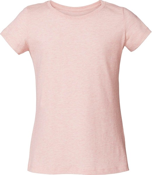 Kinder T-Shirt aus Bio-Baumwolle - cream heather pink