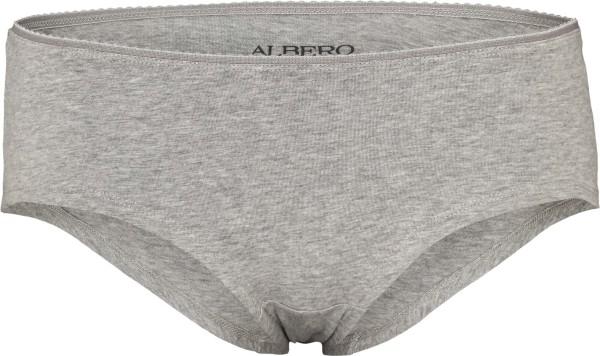 Pants aus Bio-Baumwolle - grau-meliert