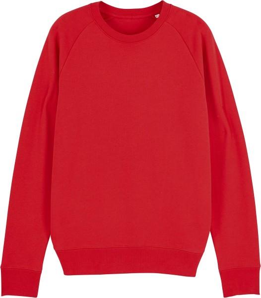 Sweatshirt aus Bio-Baumwolle - red