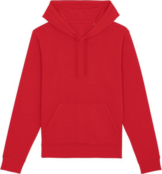 Unisex Hoodie aus Bio-Baumwolle - red