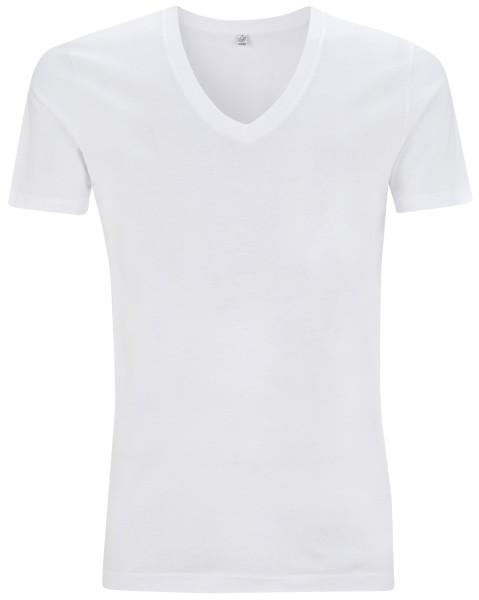 Organic V-Neck T-Shirt weiss bio EP03V