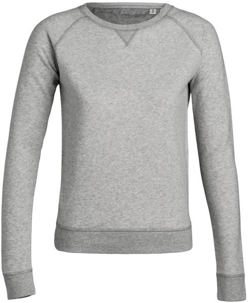 Trips - Sweatshirt aus Bio-Baumwolle - grau-meliert