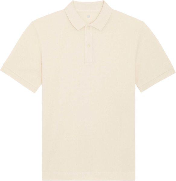 Piqué-Poloshirt aus Bio-Baumwolle - natural raw